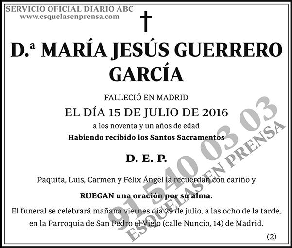 María Jesús Guerrero García